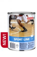 Synteko SPORT LINE краска для разметки в спорт залах 1л